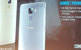 Huawei Honor 7 Premium Edition to launch in Europe soon