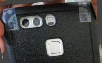 Huawei P9 spotted in live photos, case keeps design a secret