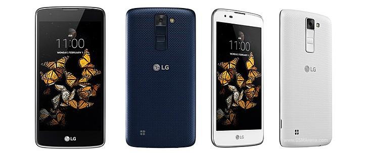 """LG outs LG K8 ở châu Âu; 5 """"hiển thị, một bộ xử lý quad-core, và Android 6.0 trong tow"""