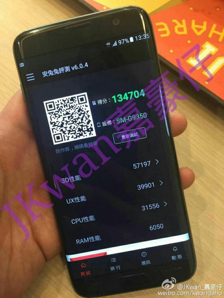 Samsung Galaxy S7 cạnh xuất hiện trong một hình ảnh sống quá