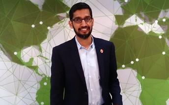 Google CEO Sundar Pichai received the record $199 million in stocks