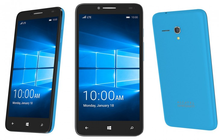 gsmarena 001 Alcatel Fierce XL with Windows 10 to land at T Mobile this Wednesday for $139