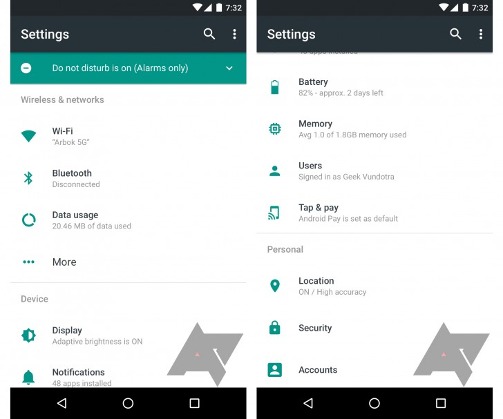 Android N System app gets previewed