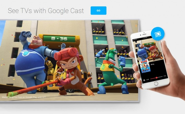 gsmarena 002 Google Cast is the next evolution of Chromecast, now with an accent on third party support