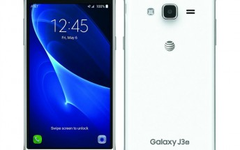 Samsung Galaxy J3 (2016) for AT&T gets pictured in leaked renders