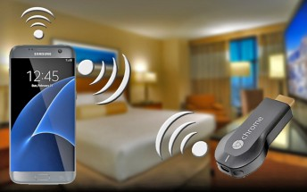 Galaxy S7 could help you use Chromecast on hotel Wi-Fi with web-based login