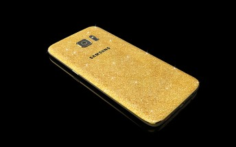 Goldgenie already has a 24-karat gold-plated Samsung Galaxy S7 on offer