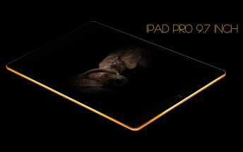 Truly Exquisite puts Gold-plated iPad Pro 9.7 on pre-order