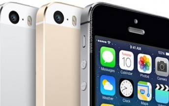 The iPhone 5s has apparently been discontinued