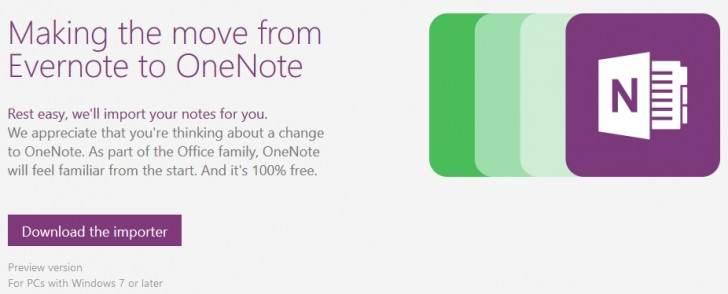 New MS OneNote importer target the crowd away from Evernote