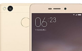 Xiaomi's new Redmi 3 Pro adds fingerprint scanner and 3GB RAM