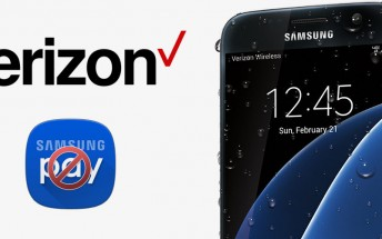 Verizon's Samsung Galaxy S7 and S7 edge lack Samsung Pay support