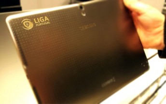 Samsung tablets will be used in the Portuguese football league for match reports