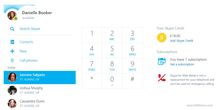 Skype for Web now lets you call phones, watch YouTube videos directly