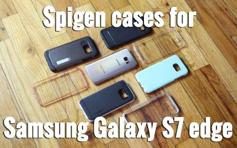 Spigen cases for the Galaxy S7 edge hands-on [VIDEO]