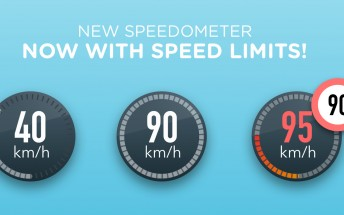 Waze will tell you if you're going over the speed limit