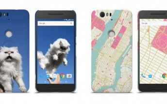 You can now design your own case for the Nexus 6P and 5X