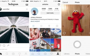 Instagram rolls out black and white UI to some users