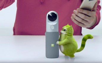 LG G5 latest promo video focuses on the 360 Cam