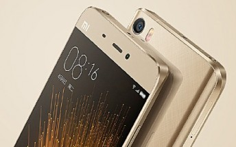 Xiaomi Mi 5 Gold Edition to be available for purchase starting April 29