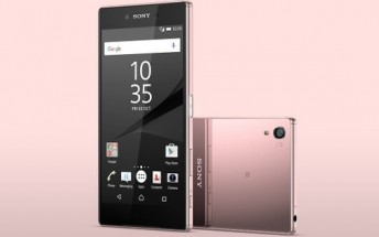 Pink Sony Xperia Z5 Premium officially announced