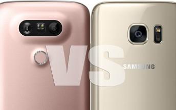 Weekly poll: LG G5 vs Samsung Galaxy S7