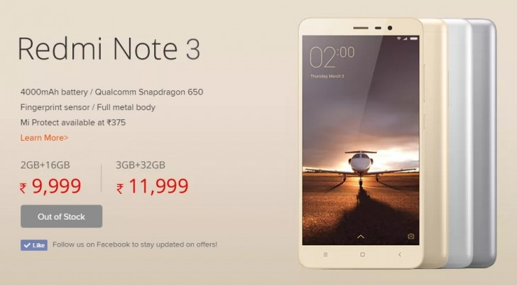 xiaomi mi 5 and redmi note 3 went on open sale in india