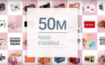 Google Cardboard app downloads hit 50 million milestone