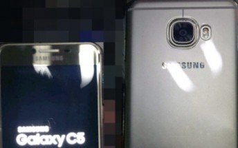 Galaxy C5 leaks in pictures for first time, shows off metal body