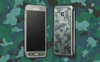 Samsung Galaxy S7 Active leaks with a camo paintjob