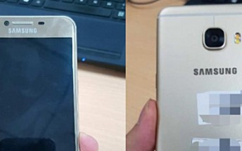 More Galaxy C5 photos leak