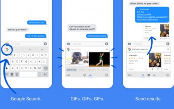 Google's Gboard keyboard marries typing and searching