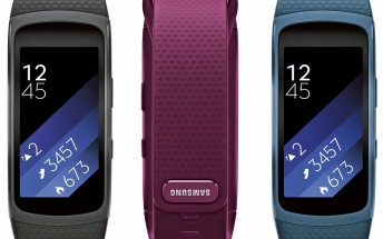 New Samsung Gear Fit 2 renders leak showing three color versions