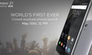 Lenovo Z1 (ZUK Z1)  India launch confirmed for May 10