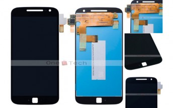 Alleged Moto G4 front panel reveals 5.5-inch 1080p display and fingerprint scanner
