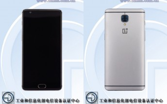 OnePlus 3 clears TENAA with 5.5-inch display, 4GB RAM