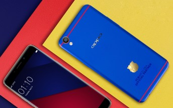 Oppo F1 Plus FC Barcelona Edition is official, is actually blue