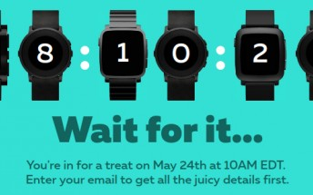 Pebble will announce something tomorrow, countdown reveals
