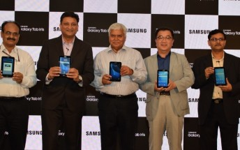 Samsung Galaxy Tab Iris with biometric technology lands in India