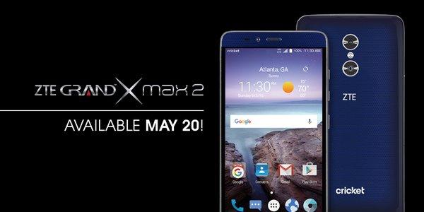 heb zte grand x max 2 nougat update fact