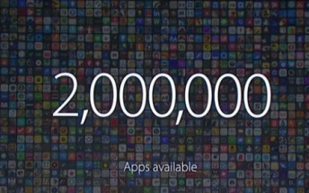 Apple App Store now has 2M apps, 130 billion downloads
