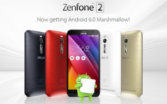 Asus Zenfone 2 ZE551ML and ZE550ML getting Marshmallow update