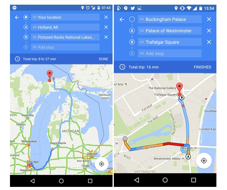 Google Maps Now Takes You From Point A To Point B To Point