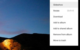 Google Photos now supports slideshows