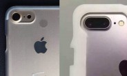 iPhone 7 and 7 Pro photographed with camera humps