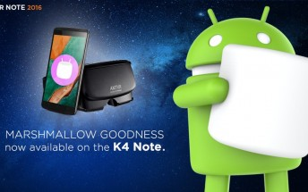 Lenovo K4 Note starts receiving Marshmallow update