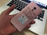 Meizu Pro 6 in Pink (Rose Gold) and Red