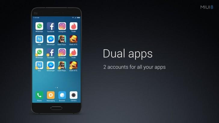 miui 8 dual apps এর চিত্র ফলাফল