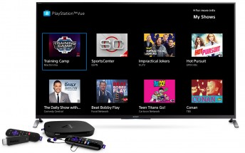 PlayStation Vue lands on Roku today, Android next week