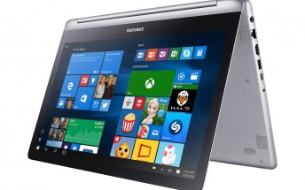 Samsung Notebook 7 Spin is a 2-in-1 convertible laptop starting at $799.99